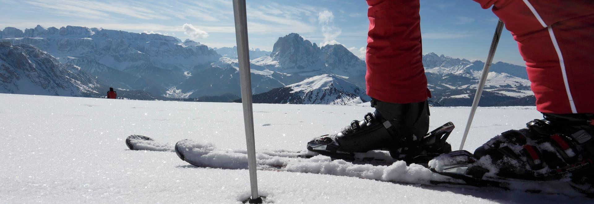 Antermejes Chalet | Ferienwohnungen in Santa Cristina | Winter