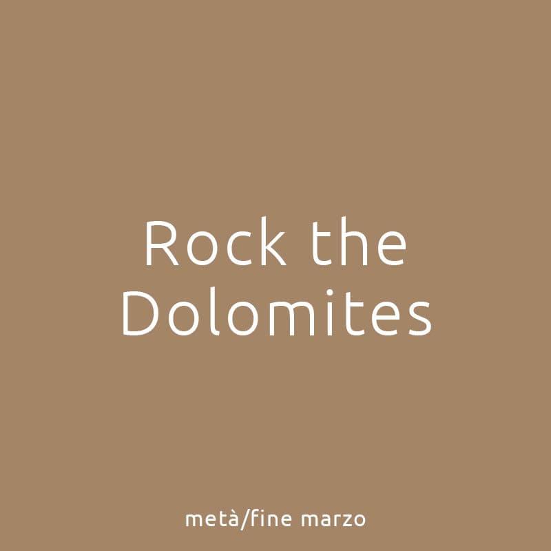 Rock the Dolomites