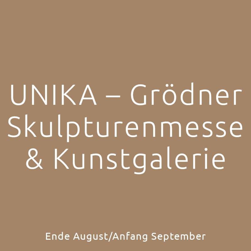 UNIKA – Grödner Skulpturenmesse und Kunstgalerie