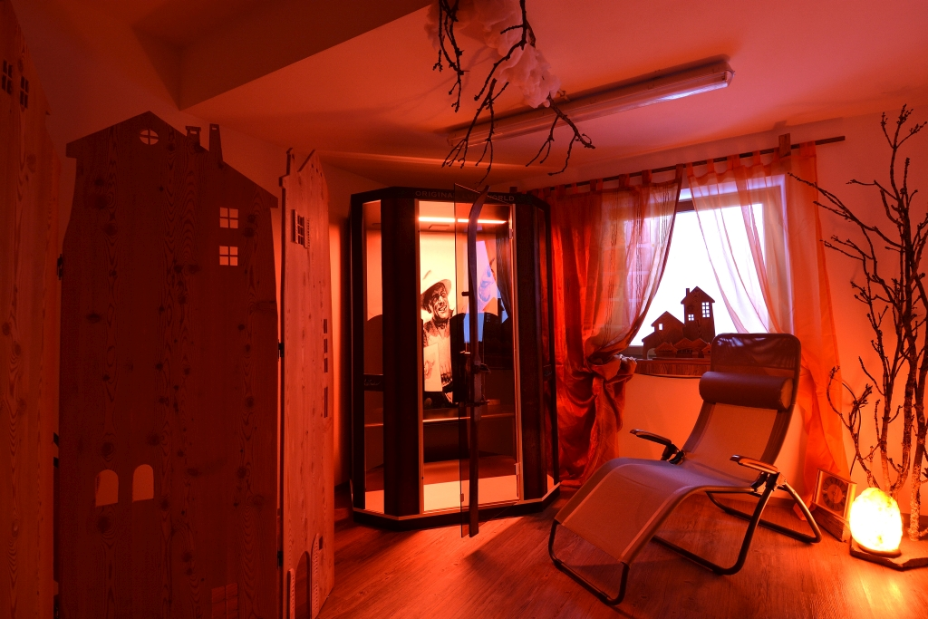 Antermejes Chalet | infrared cabin